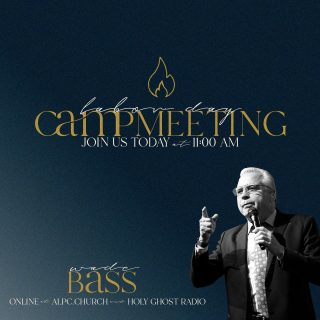 Today Reverend Wade Bass will be bringing us the Word at 11:00 AM PST.  Online at alpc.church and Holy Ghost Radio.  #ldcm21  #hgr1  #holyghostradio  #abundantlife  #alpc  #apostolic  #pentecostal  #campmeeting  #holyghost  #laborday #mcminnvilleoregon